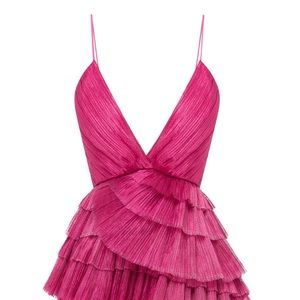 Alice McCall: Don't Be Shy Pleated Shell Dress